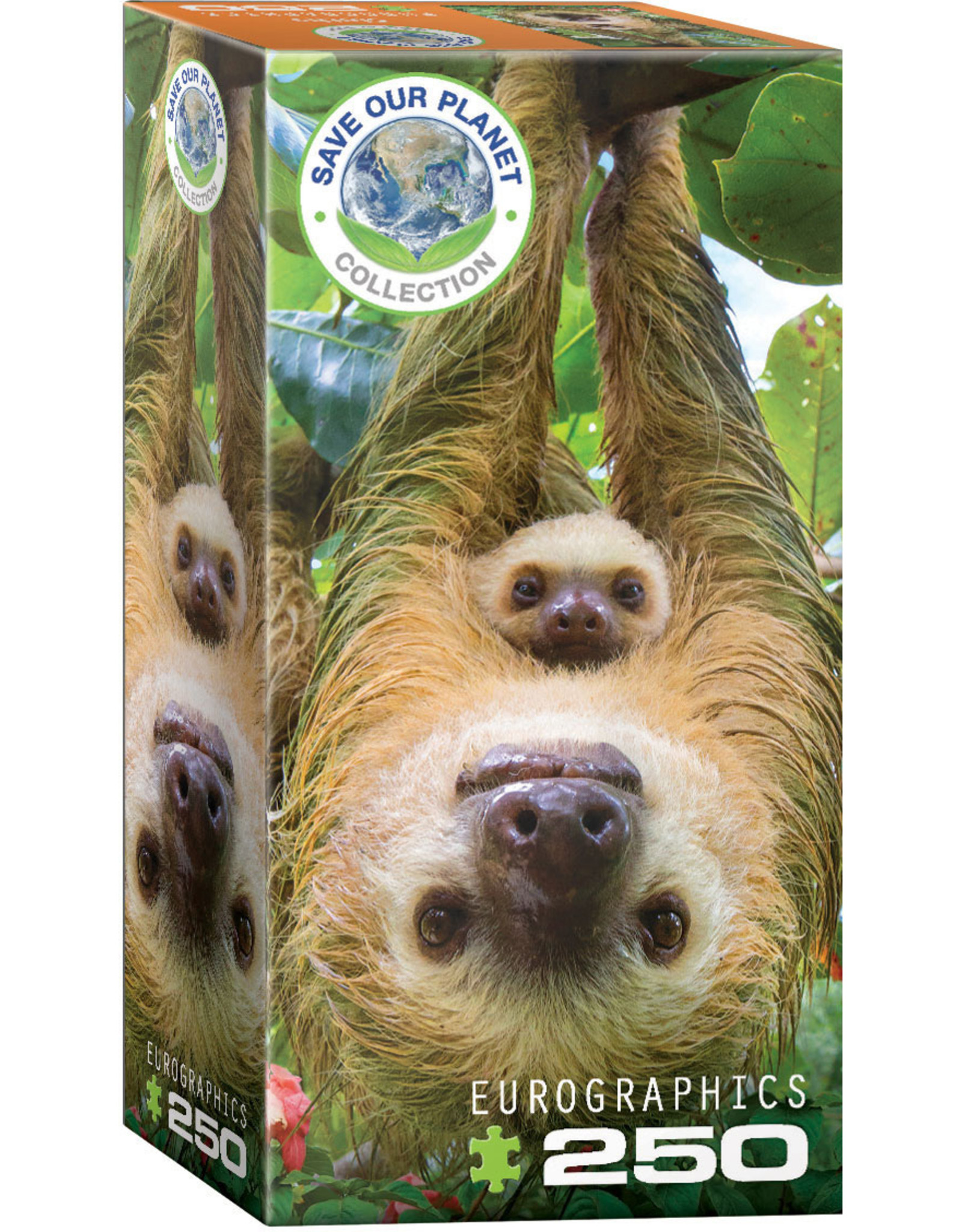 "Eurographics ""Sloths"" 250 Piece Puzzle"