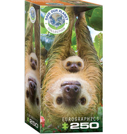 "Eurographics ""Sloths"" 250 Piece Puzzle"