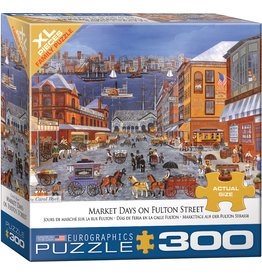 "Eurographics ""Market Days on Fulton Street"" 300 Piece Puzzle"