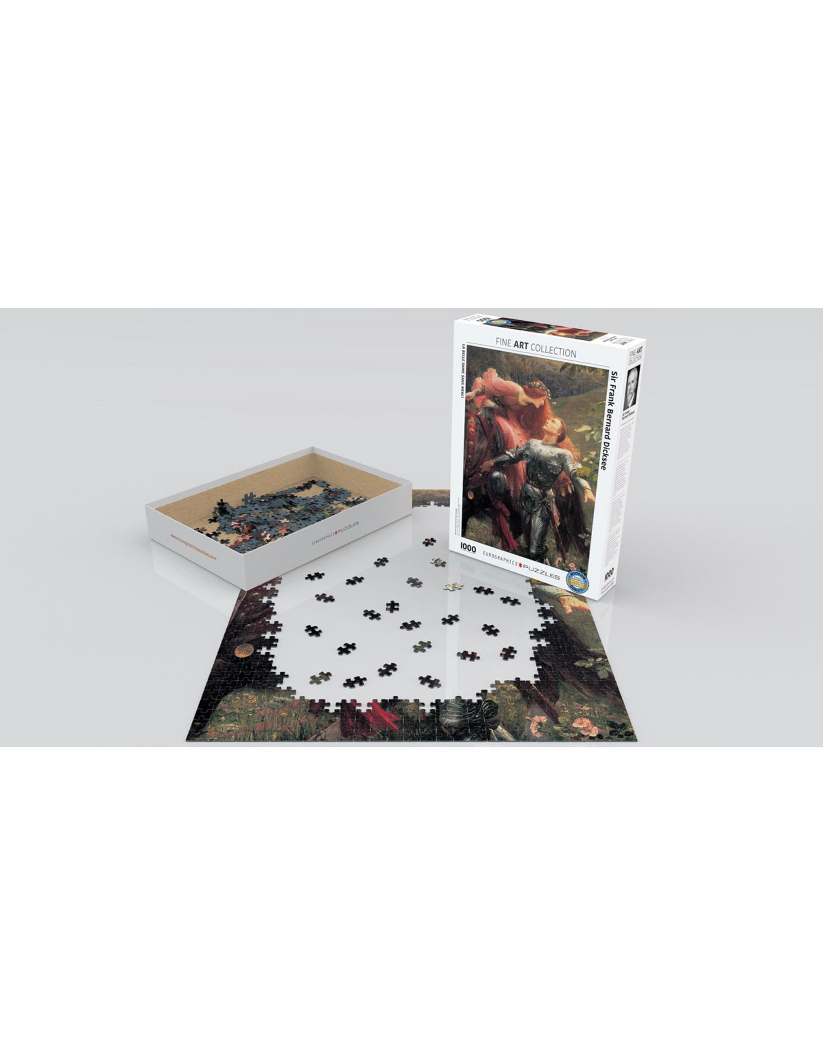 """Eurographics """"La Belle Dame Sans Merci"""" 1000 Piece Puzzle"""