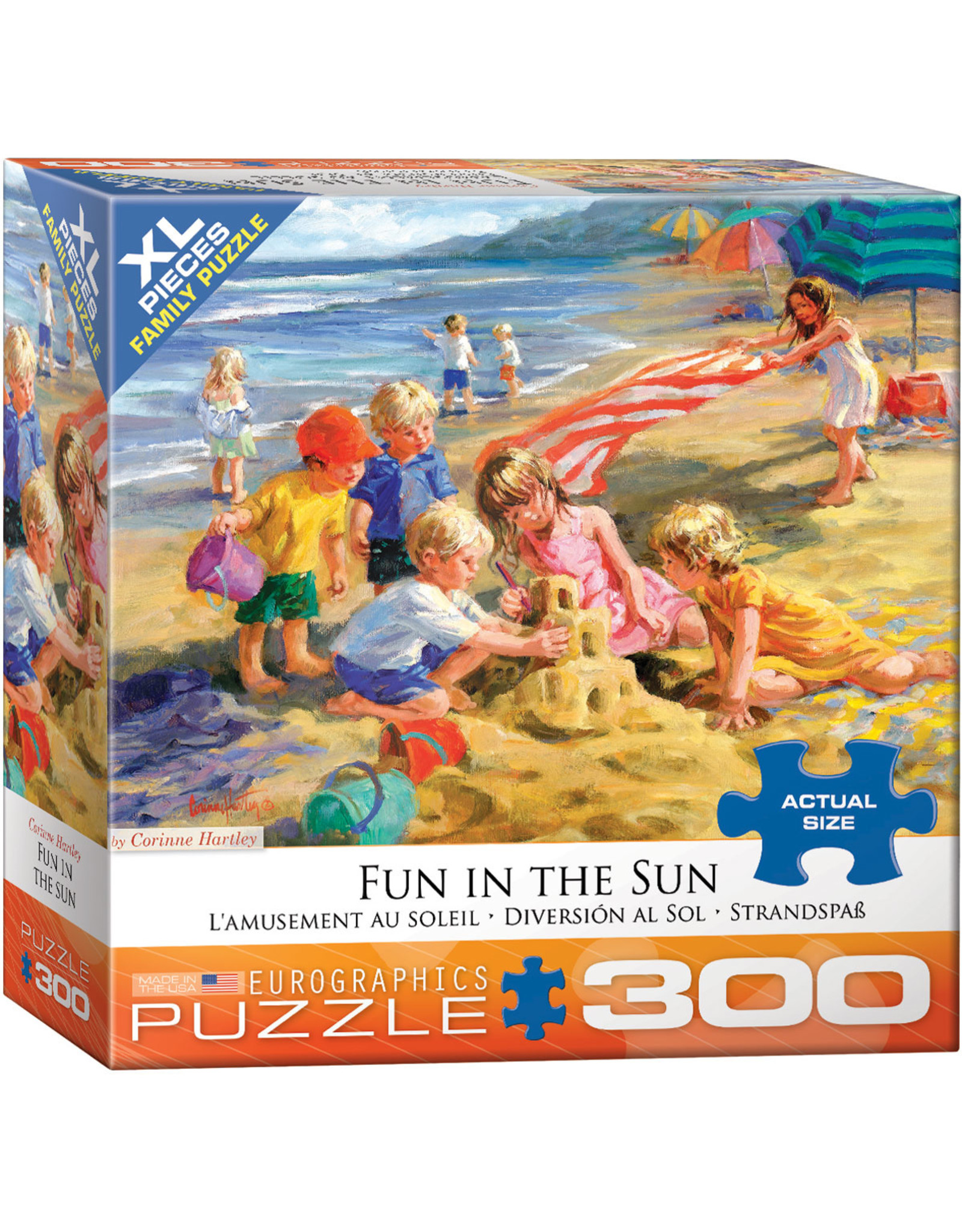 "Eurographics ""Fun in the Sun"" 300 Piece Puzzle"