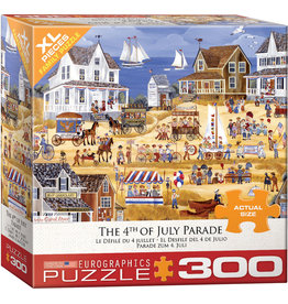 "Eurographics ""4th of July Parade"" 300 Piece Puzzle"