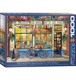 "Eurographics ""The Greatest Bookstore in the World"" 1000 Piece Puzzle"