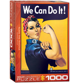 "Eurographics ""Rosie the Riveter"" 1000 Piece Puzzle"