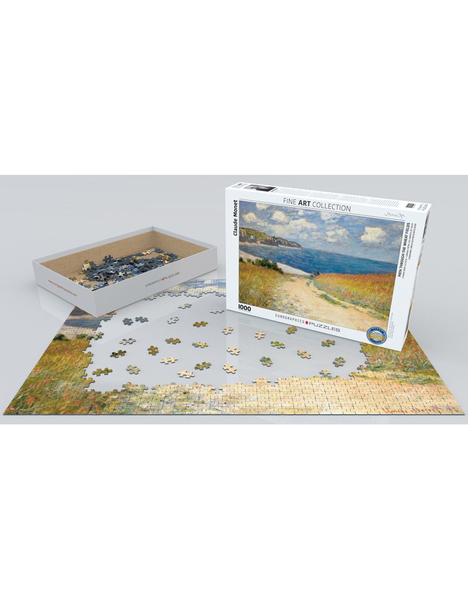 """Eurographics """"Path through the Wheat Fields"""" 1000 Piece Puzzle"""