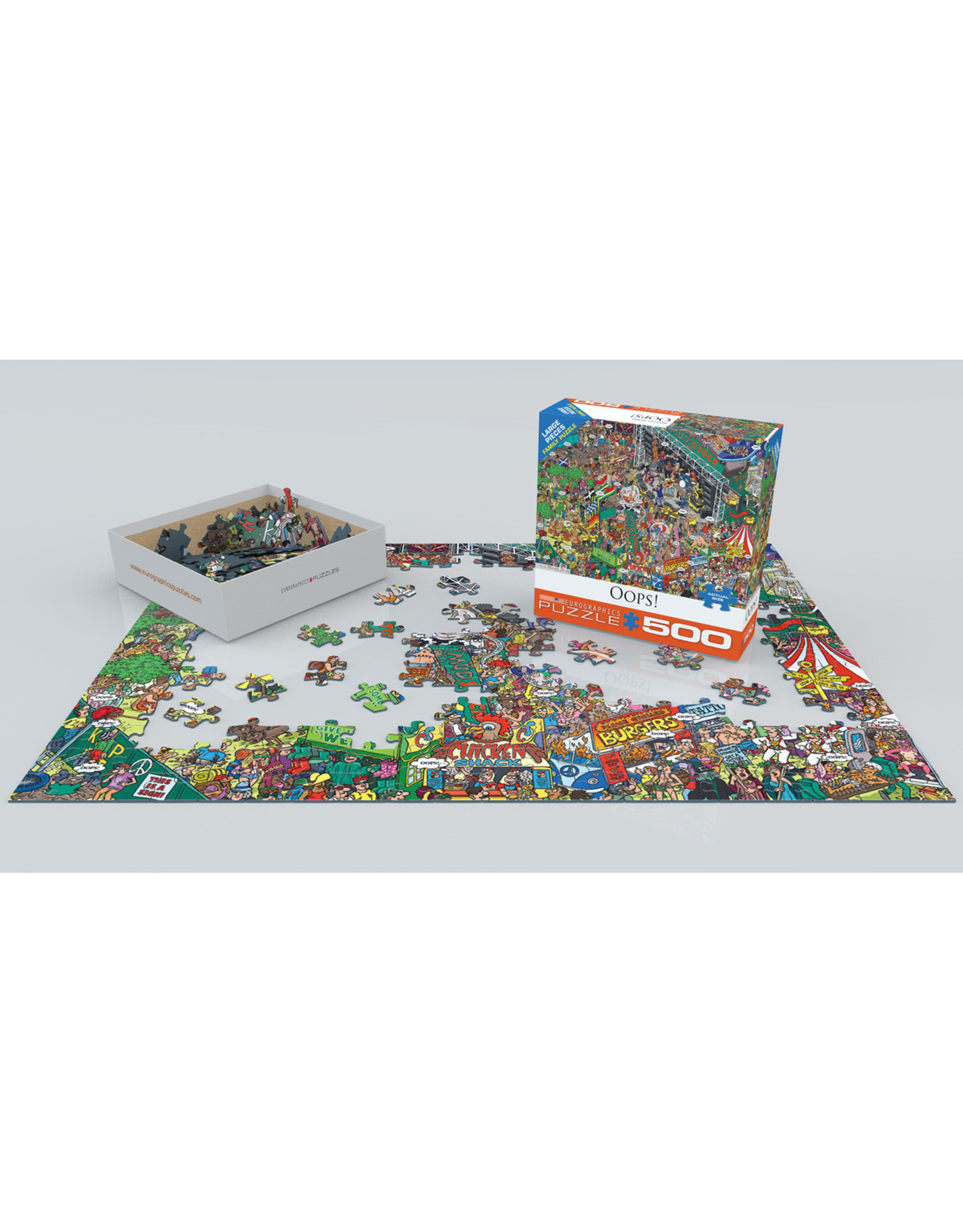 """Eurographics """"Oops!"""" 500 Piece Puzzle"""