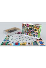"Eurographics ""Mediterranean Windows"" 1000 Piece Puzzle"