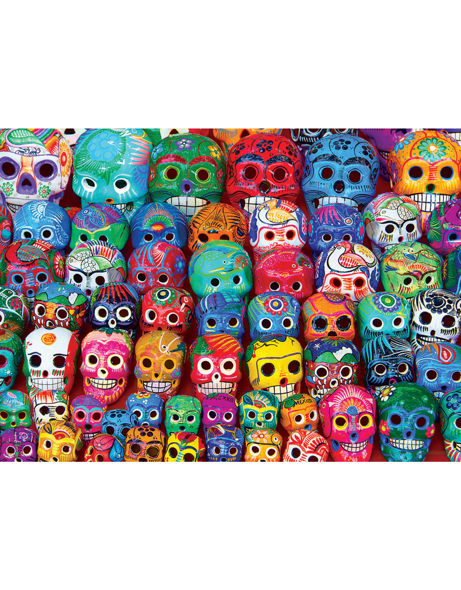 """Eurographics """"Traditional Mexican Skulls"""" 1000 Piece Puzzle"""
