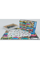 "Eurographics ""VW Beetle - Gone Places"" 1000 Piece Puzzle"