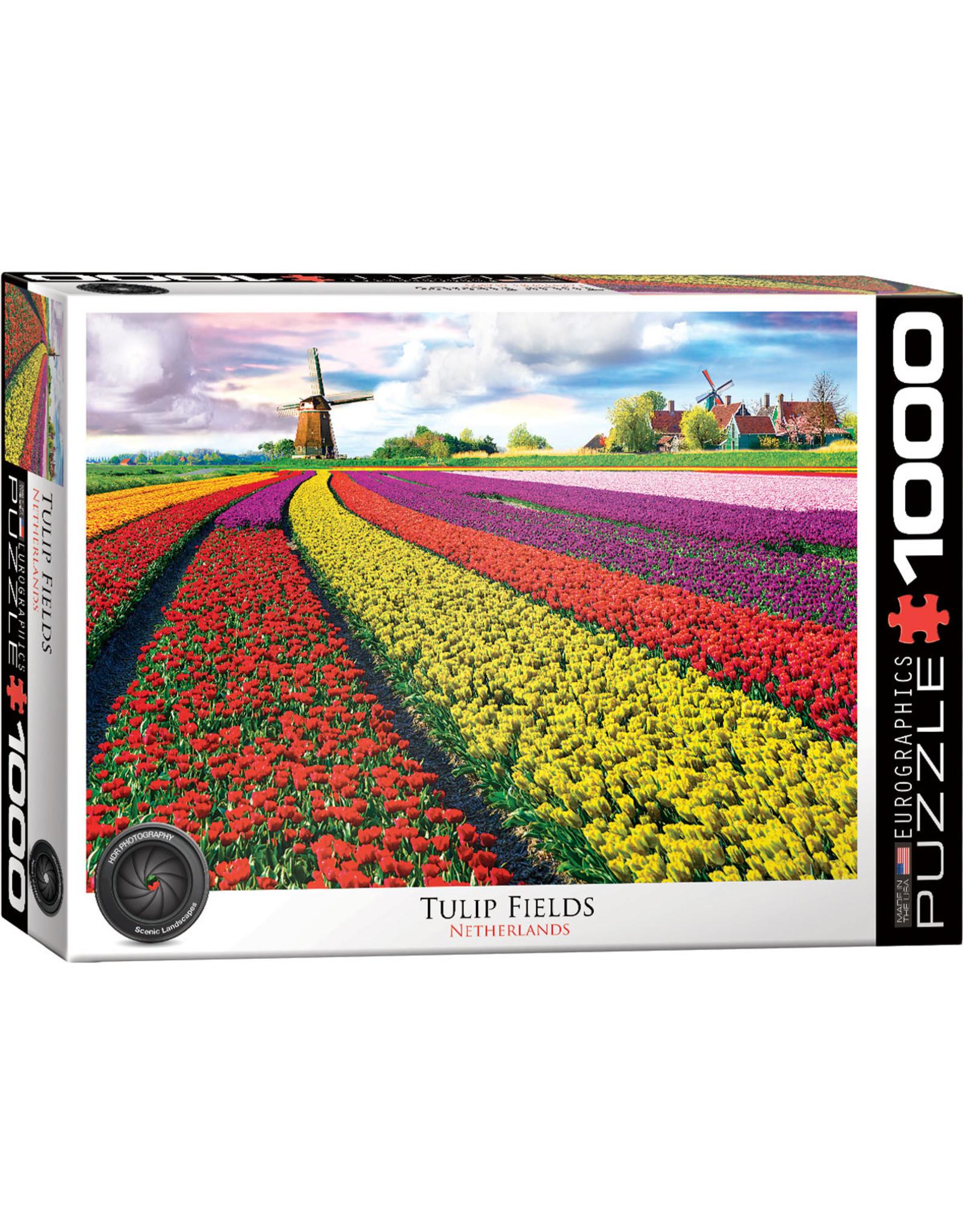 "Eurographics ""Tulip Fields"" 1000 Piece Puzzle"