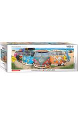 "Eurographics ""VW Bus - KombiNation"" 1000 Piece Panoramic Puzzle"
