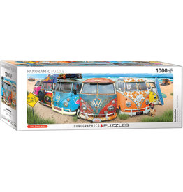 "Eurographics ""VW Bus - KombiNation"" 1000 Piece Panoramic Puzzle"
