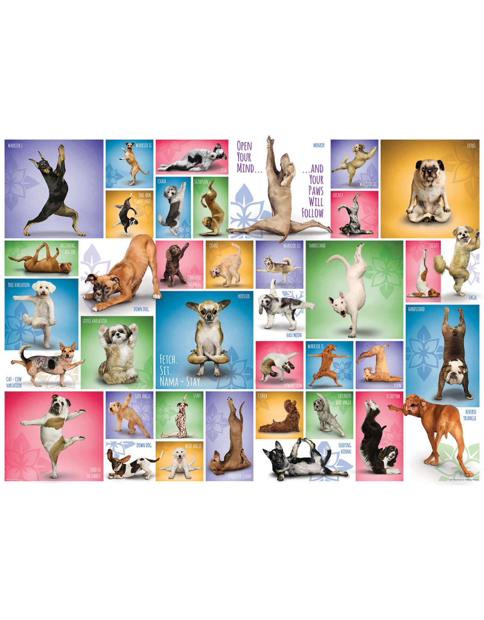 "Eurographics ""Yoga Dogs"" 1000 Piece Puzzle"