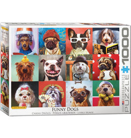 "Eurographics ""Funny Dogs"" 1000 Piece Puzzle"