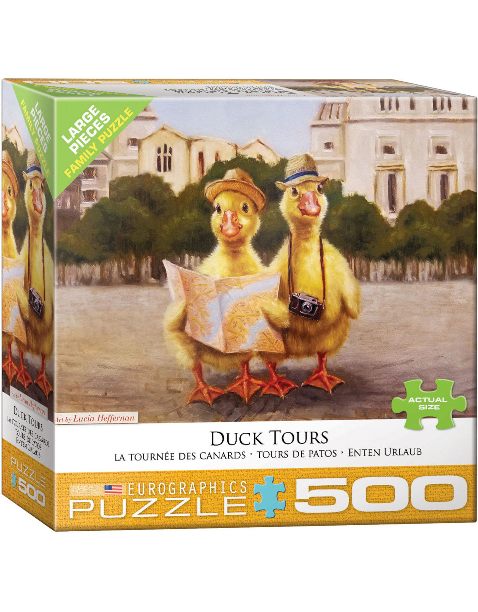 """Eurographics """"Duck Tours""""  500 Piece Puzzle"""