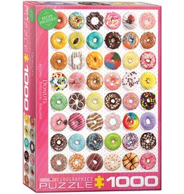 "Eurographics ""Donuts Tops"" 1000 Piece Puzzle"