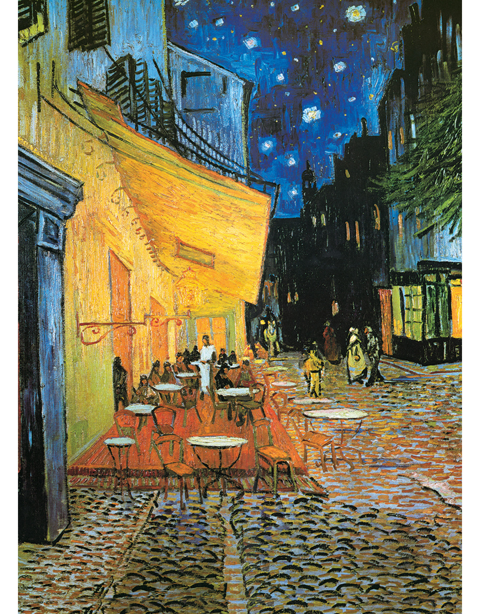 """Eurographics """"Cafe Terrace at Night"""" 1000 Piece Puzzle"""