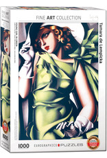 """Eurographics """"Young Girl in Green"""" 1000 Piece Puzzle"""