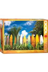 """Eurographics """"Surfer's Paradise"""" 1000 Piece Puzzle"""