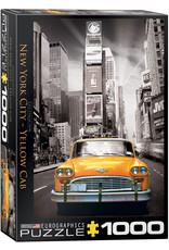 "Eurographics ""New York City Yellow Cab"" 1000 Piece Puzzle"