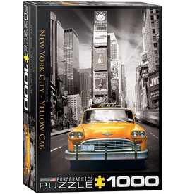 "Eurographics ""New York City Yellow Cab"" 1000 Piece Puzzle"