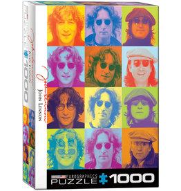 """Eurographics """"John Lennon Color Portraits"""" 1000 Piece Puzzle"""
