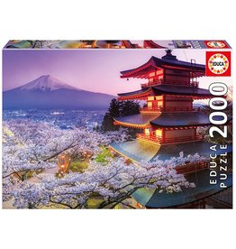 "Educa ""Mount Fuji, Japan"" 2000 Piece Puzzle"