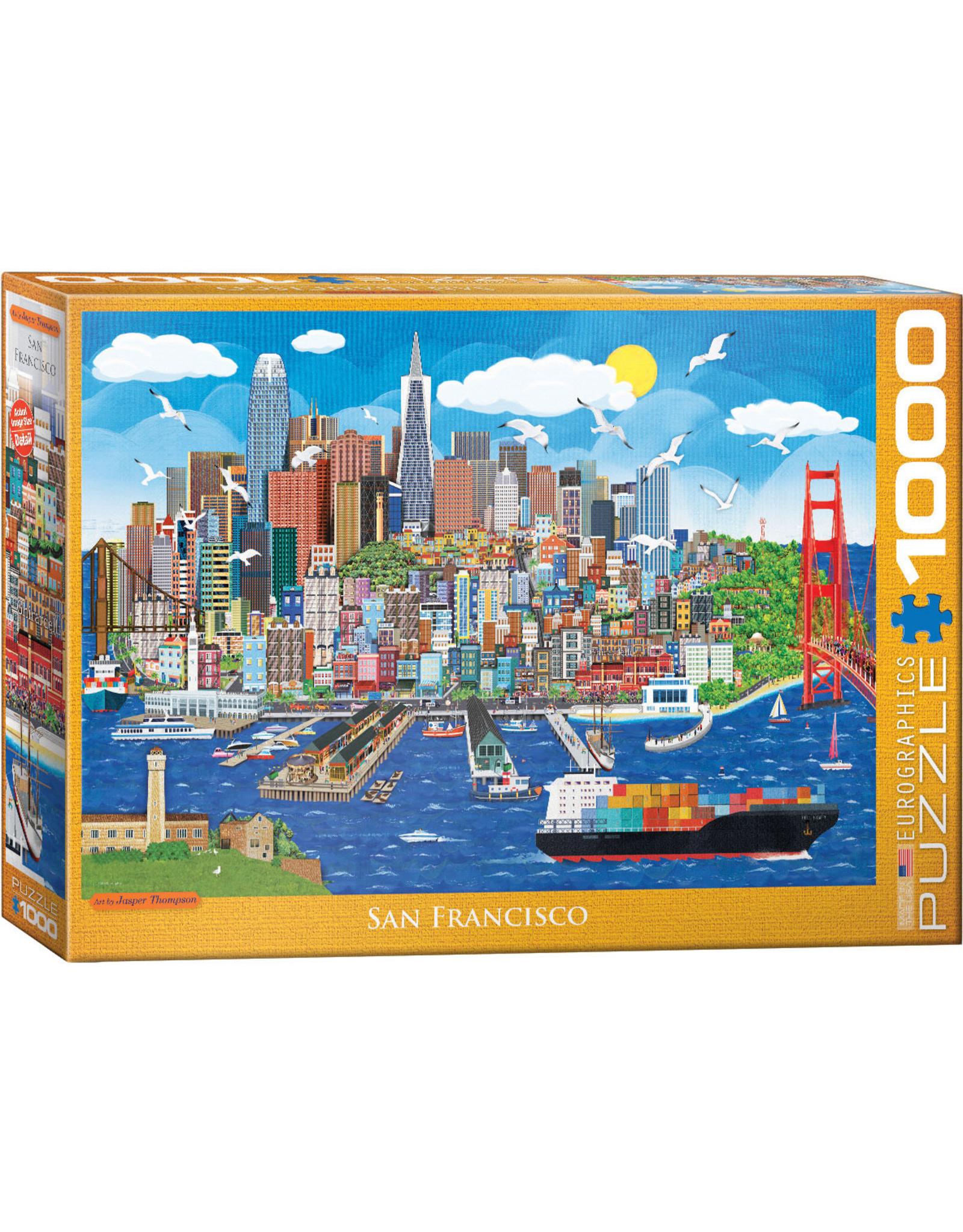 "Eurographics ""San Francisco"" 1000 Piece Puzzle"