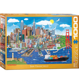 "Eurographics ""San Francisco"" 1000 Piece Puzzle"