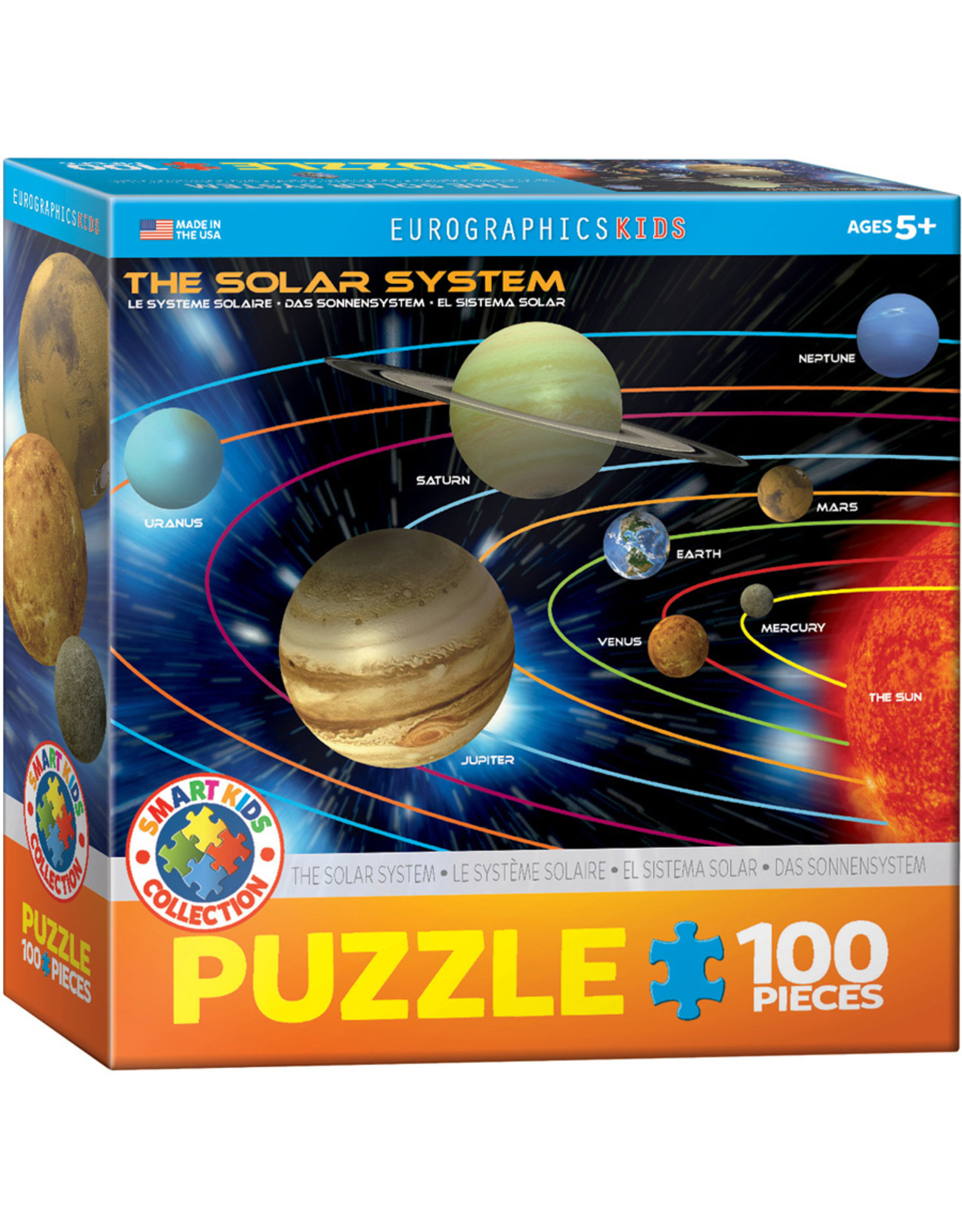"Eurographics ""The Solar System"" 100 Piece Puzzle"