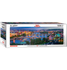 "Eurographics ""Prague, Czech Republic"" 1000 Piece Panoramic Puzzle"
