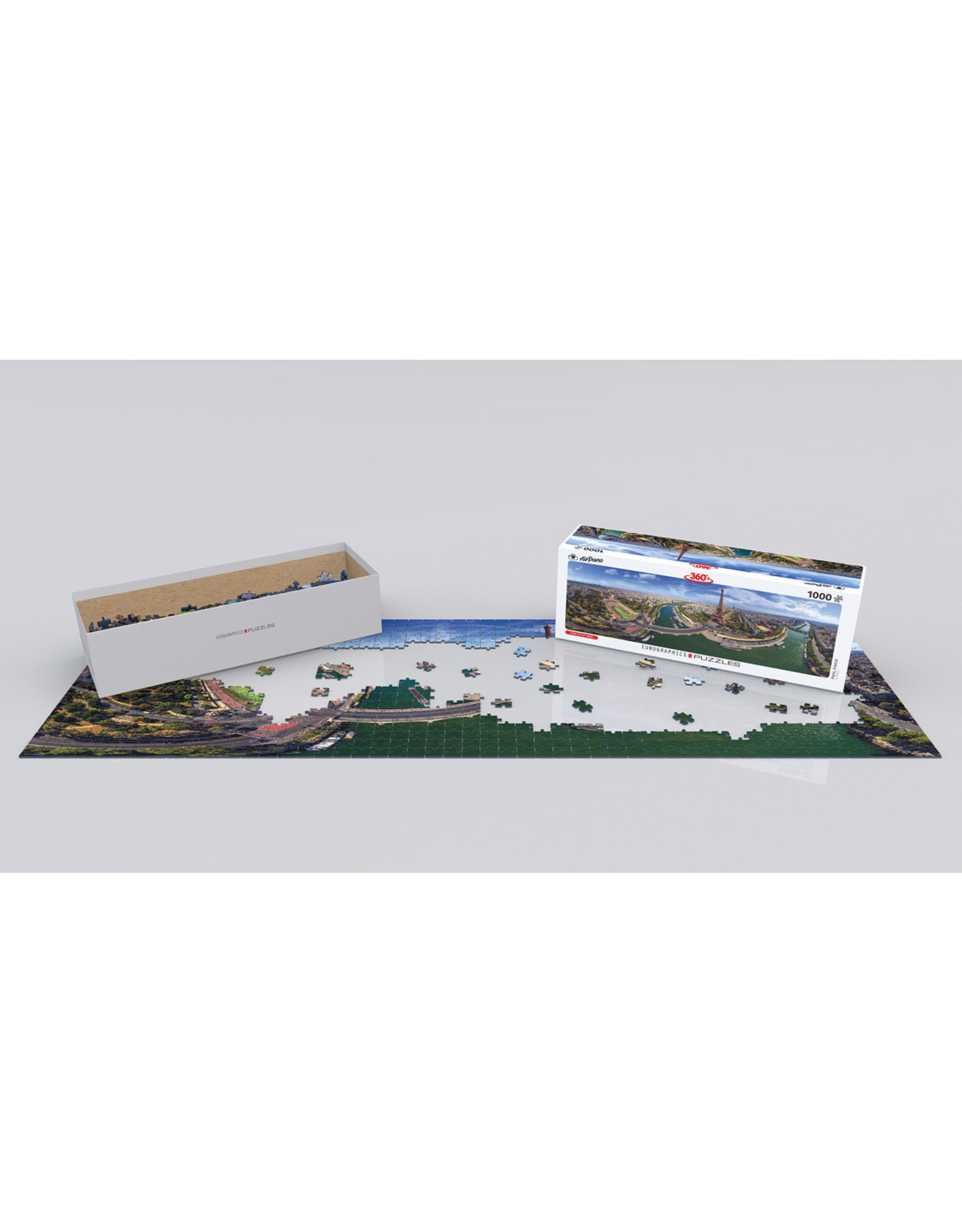 "Eurographics ""Paris, France"" 1000 Piece Panoramic Puzzle"