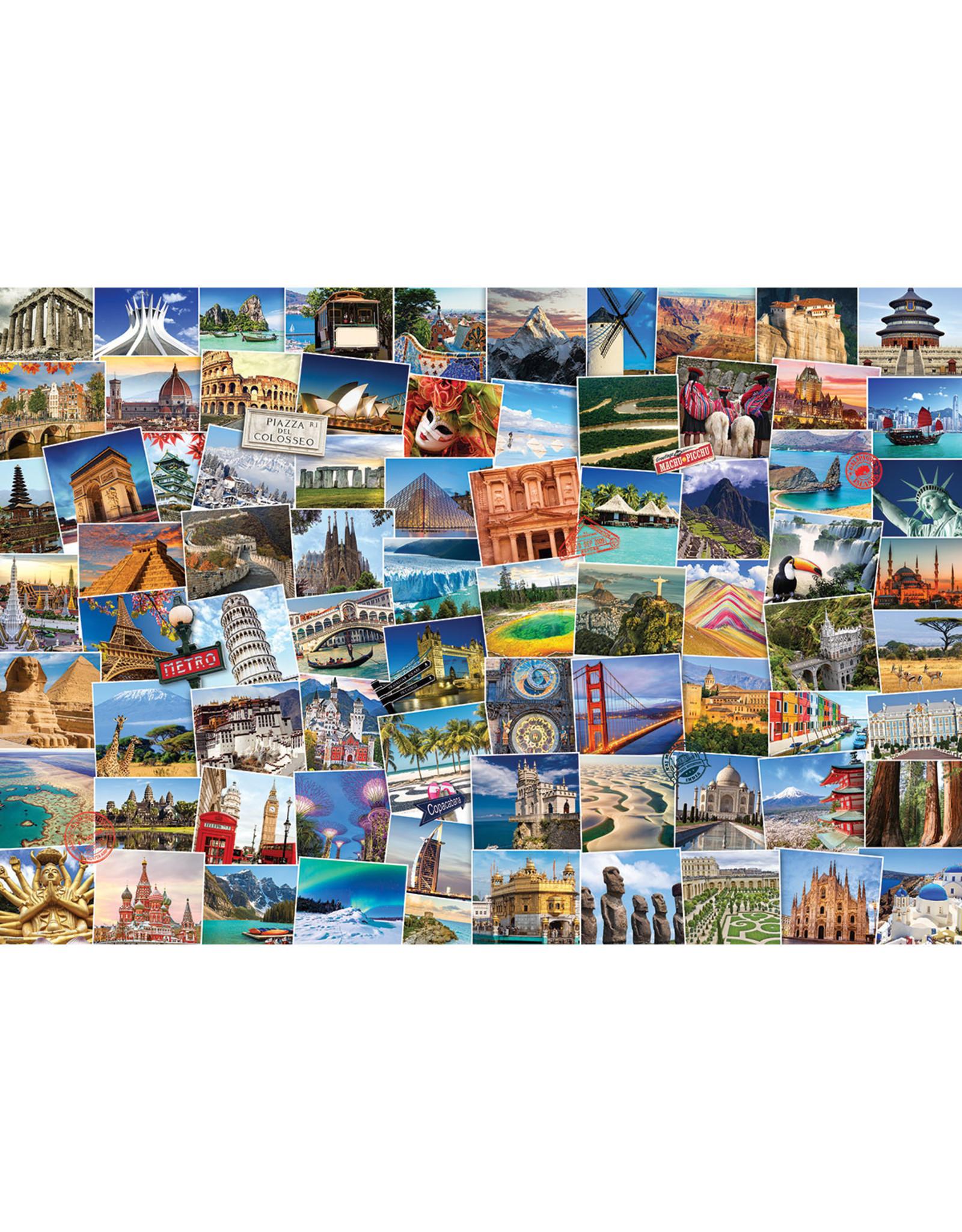 "Eurographics ""Globetrotter World"" 2000 Piece Puzzle"