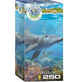 """Eurographics """"Dolphins"""" 250 Piece Puzzle"""