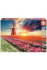 "Educa ""Tulips Landscape"" 1500 Piece Puzzle"
