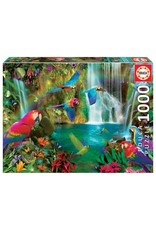 "Educa ""Tropical Parrots"" 1000 Piece Puzzle"
