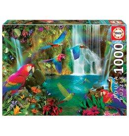 """Educa """"Tropical Parrots"""" 1000 Piece Puzzle"""