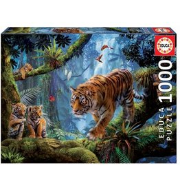 """Educa """"Tigers in the Tree"""" 1000 Piece Puzzle"""