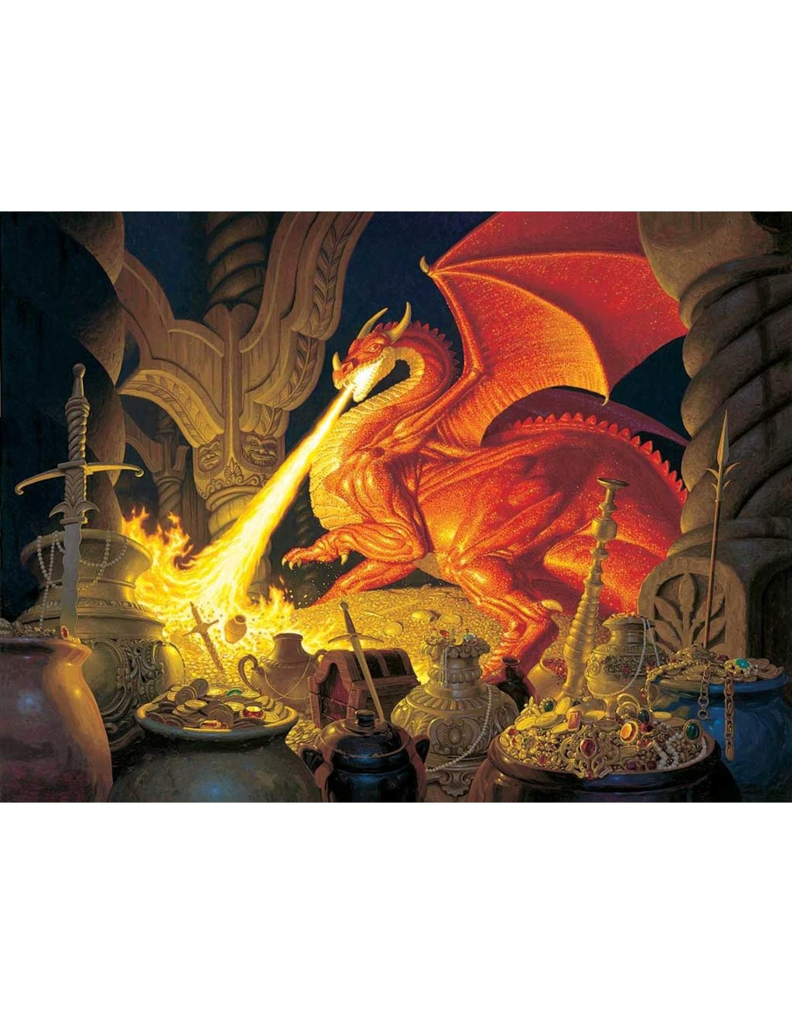 """SunsOut """"Smaug Dragon"""" 1000 Piece Puzzle"""