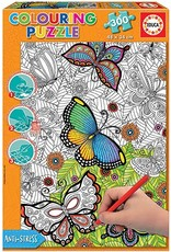"""Educa """"Wild and Free"""" 300 Piece Coloring Puzzle"""