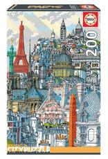 """Educa """"Paris"""" 200 Piece Puzzle"""