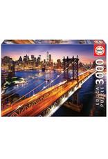 """Educa """"Manhattan at Sunset"""" 3000 Piece Puzzle"""