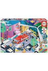 "Educa ""Emergency Services"" 200 Piece Puzzles"