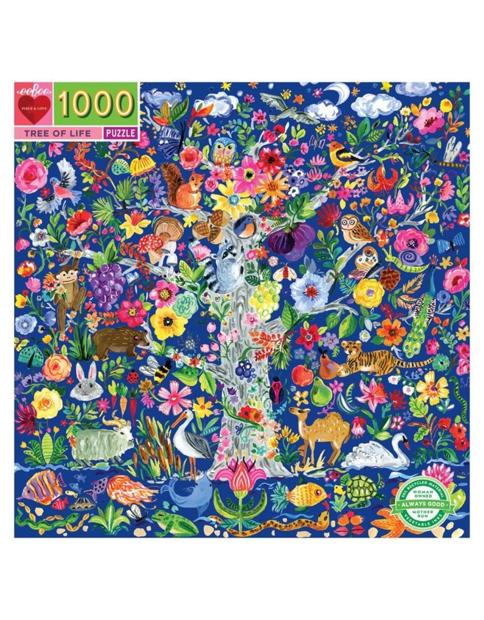 """eeBoo """"Tree of Life"""" 1000 Piece Puzzle"""