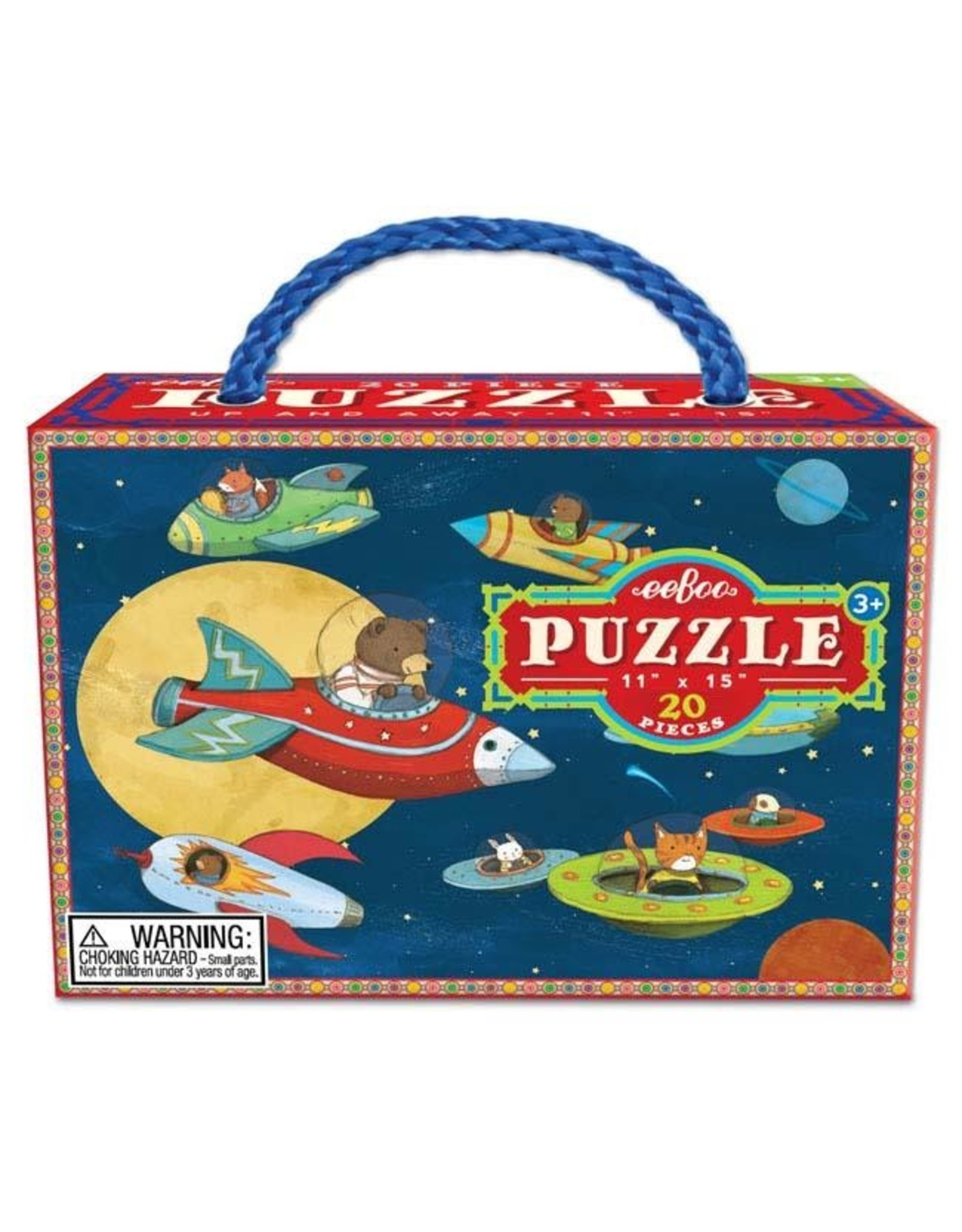 "eeBoo ""Up and Away"" 20 Piece Puzzle"