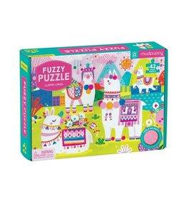 "Mudpuppy ""Llama Land"" 42 Piece Fuzzy Puzzle"