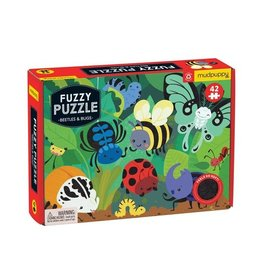 "Mudpuppy ""Beetles & Bugs"" 42 Piece Fuzzy Puzzle"