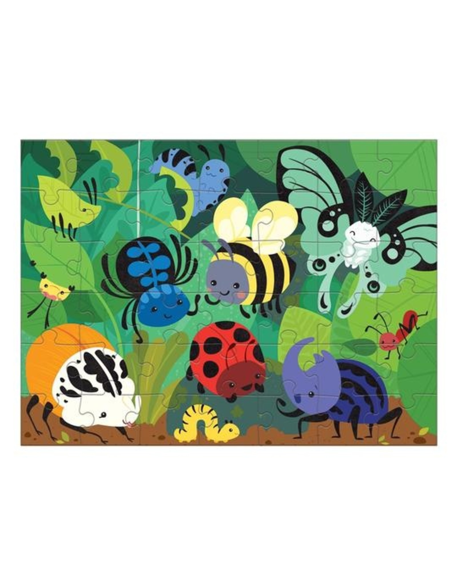 "Mudpuppy ""Beetles & Bugs"" 42 Piece Fuzzy Puzzle"