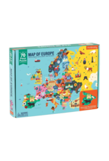 "Mudpuppy ""Map of Europe"" 70 Piece Puzzle"