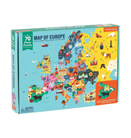 "Mudpuppy ""Map of Europe"" 70 Piece Puzzle"